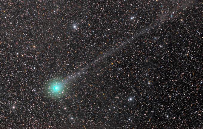 Observação ao Cometa C/2014 Q2 (Lovejoy)